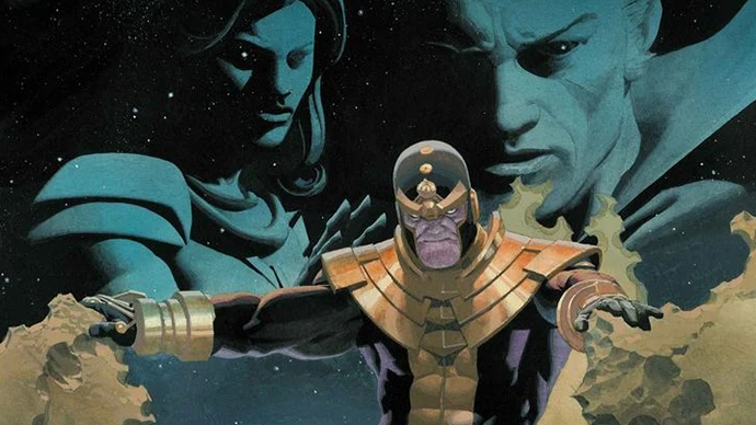 Eternals Thanos Rises Kieron Gillen Esad Ribic