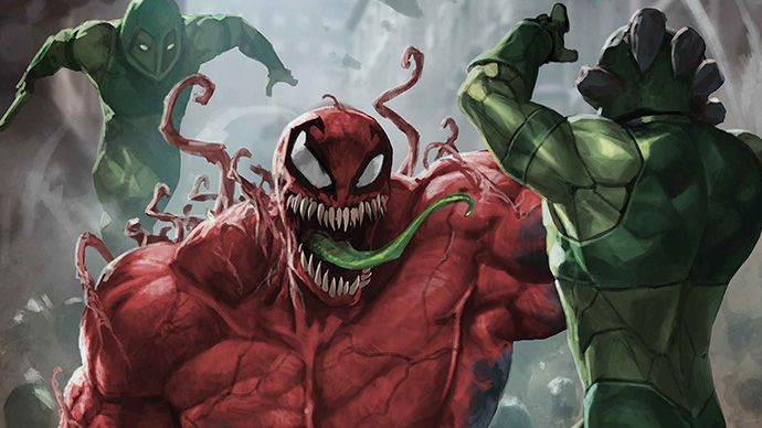 Extreme Carnage Toxin one-shot