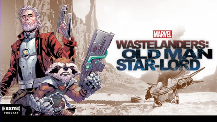 Marvel's Wastelanders Old Man Star-Lord podcast