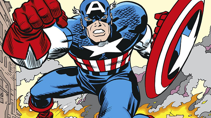 Captain America The First 80 Years Titan