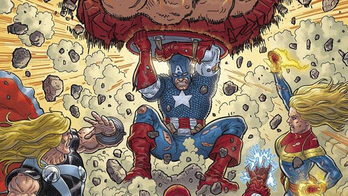 The Death of Doctor Strange Avengers