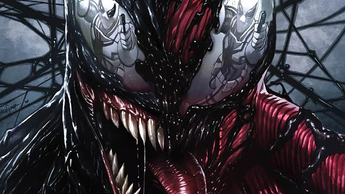 Extreme Carnage Alpha variant cover