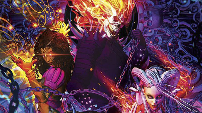 Ghost Rider Witches Unleashed novel