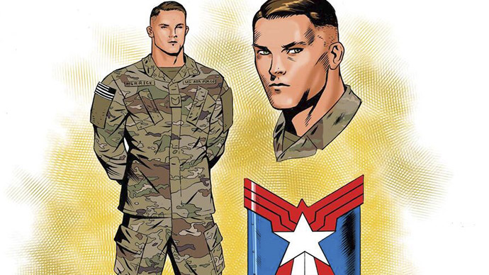 Jeremy Merrick The United States of Captain America