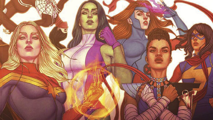 Super Visible The History of the Women of Marvel