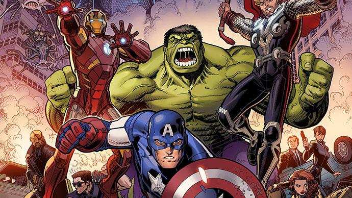 Avengers MCU Infinity Saga Variant Cover