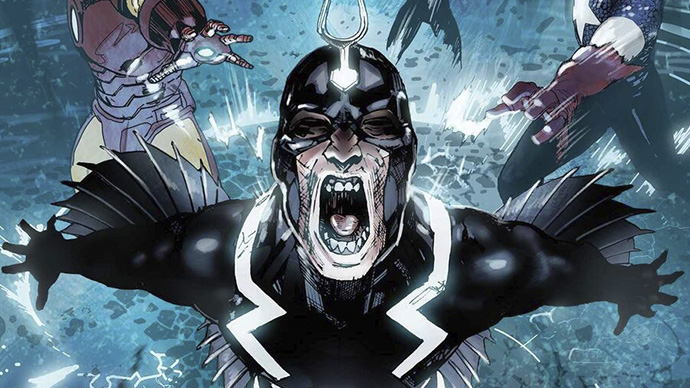 Darkhold Black Bolt Rayo Negro