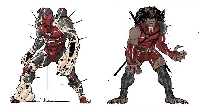 Darkhold Iron Man Blade