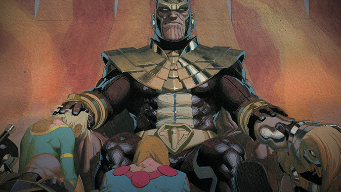 Eternals Hail Thanos Eternal Prime teaser