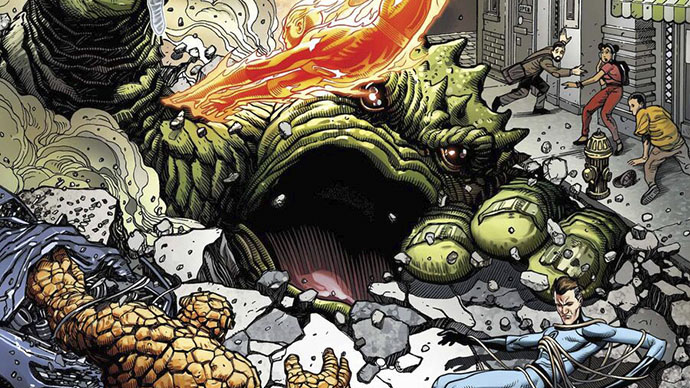 Fantastic Four Anniversary Tribute Boletín Marvel