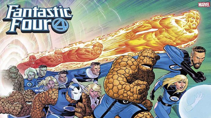 Fantastic Four John Romita Jr. variant cover