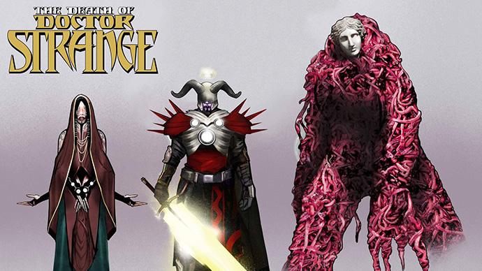 The Death of Doctor Strange Three Mothers Boletín Marvel