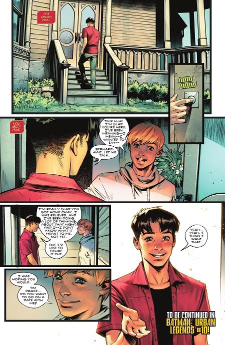 La bisexualidad de Tim Drake