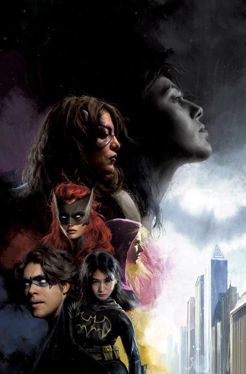 Las Batgirls y otros secundarios en portada del Detective Comics