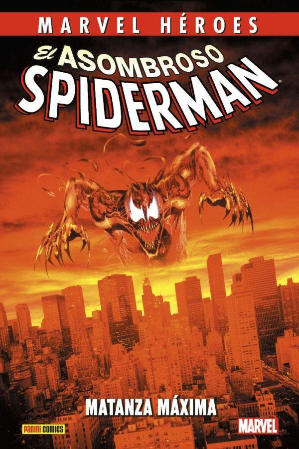 Marvel Héroes El Asombroso Spiderman Matanza Máxima