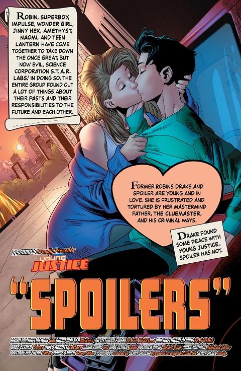 Tim Drake Stephanie Brown bisexualidad