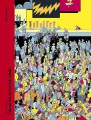Portada Sobra un autor de cómic, Daniel Blancou