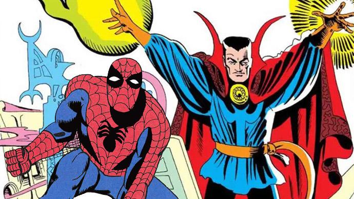 Steve Ditko Spiderman Doctor Extraño