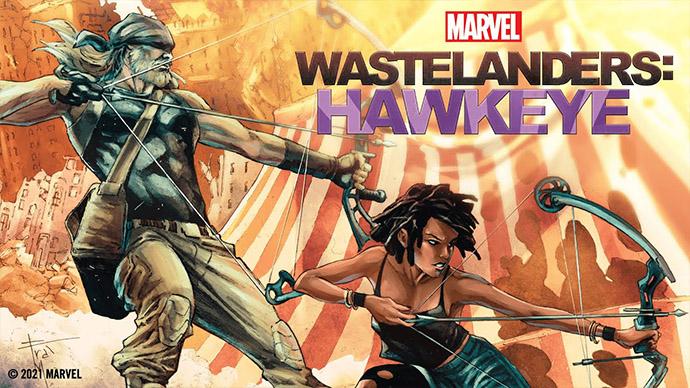 Marvel's Wastelanders Hawkeye