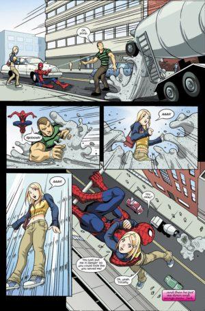 Página 4. Marvel Young Adults. Spiderman Ama a Mary Jane 2. La cuestión inesperada.