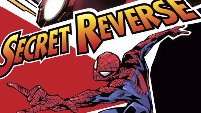 Secret Reverse Manga Boletín Marvel