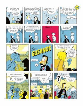 Pagina de Sobra un autor de cómic