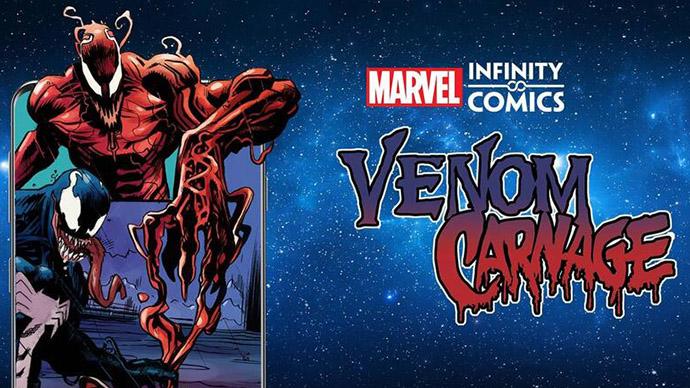 Venom Carnage Infinity Comic